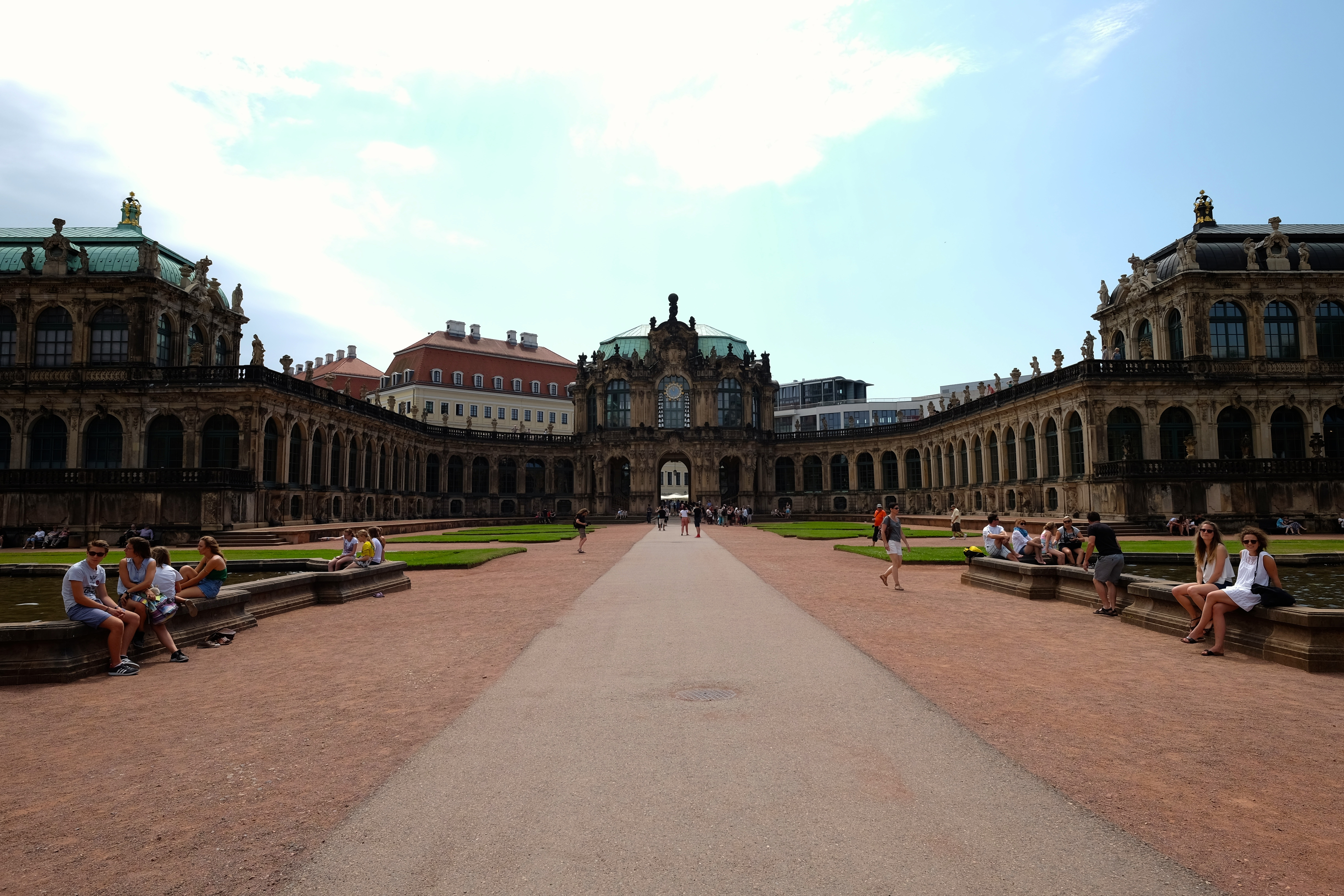 canap dresden Dresden Court inside the Zwinger Palace.